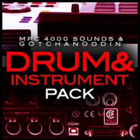Akai MPC 4000 Samples Drum and Instrument Pack
