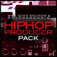 Akai MPC 4000 Samples Hip Hop Producer Pack