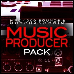 Akai MPC 4000 Samples Producer Pack