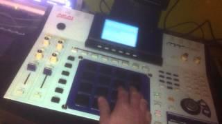 Akai mpc 4000 house music project