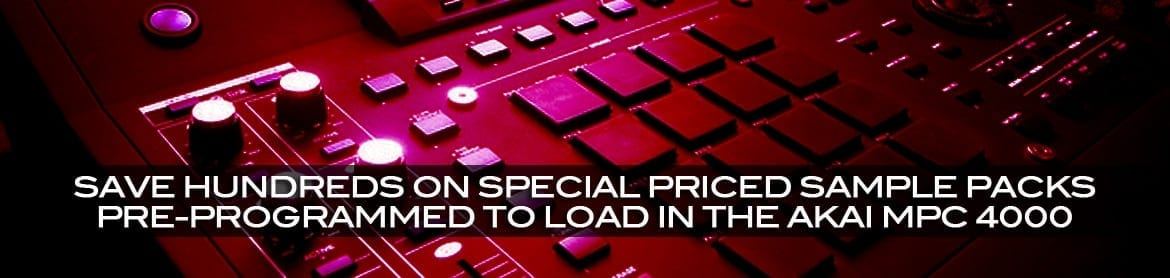 Download Akai MPC 4000 Special Packages