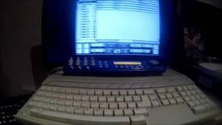 Atari ST sequencing Akai Z8 + Korg MS20 + Waldorf micro Q