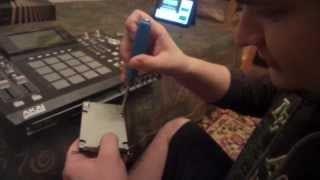 AKAI MPC Renaissance Finger Drumming by Julien Drumz