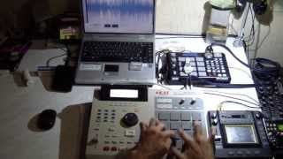 AKAI MPC FINGER DRUMMING